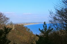 View of Dundrum Bay on the ascent to Slieve Donard, Northern Ireland