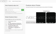Embed Social, insertar álbumes de Facebook en tu sitio fácilmente