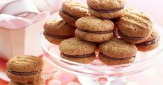Settle back with a chewy, chocolatey biscuit treat with these delicious Kingston cookies - better than the original if we do say so ourselves. Coconut Biscuits, Cream Biscuits, Homemade Biscuits, Coconut Cookies, Afternoon Tea Biscuits, Kingston Biscuits, Baking Recipes, Cake Recipes, Crack Crackers