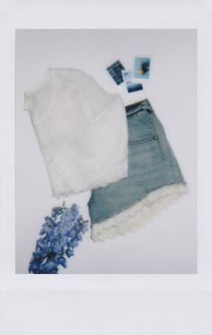 lace trimmed shorts | photo by @caitlin_cawley for #instax