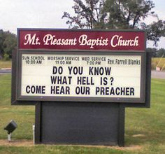 Reasons You Might Be in the Wrong Church"