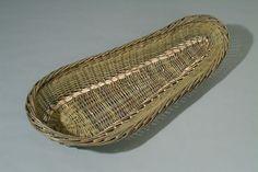Klaus Seyfang - Geflecht & Skulpturen Basket Tray, Contemporary, Trays, Basket Quilt, Braid, Sculptures, Tray