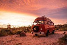 Vw Bus T2, Volkswagen Bus, Vw T1, Vw Camper, Desert Road, Combi Vw, Cool Campers, Life Is An Adventure, Campervan