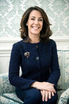 Her Royal Highness Princess Marie of Denmark recently gave an interview to Danish newspaper Jyllands Posten. New picture of Princess Marie taken for an. Crown Princess Victoria, Crown Princess Mary, Princess Diana, Pictures Of Princesses, Princesa Real, Style Royal, Princess Marie Of Denmark, Queen Margrethe Ii, Interview