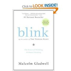 Blink is a book about how we think without thinking, about choices that seem to be made in an instant-in the blink of an eye-that actually aren't as simple as they seem. Brilliant!