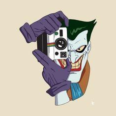 The Joker from the Batman animated series voiced by Mark Hamill Batman Painting, Batman Drawing, Batman Poster, Batman Art, Joker Batman, Joker Pics, Joker Art, Bruce Timm, Jokers