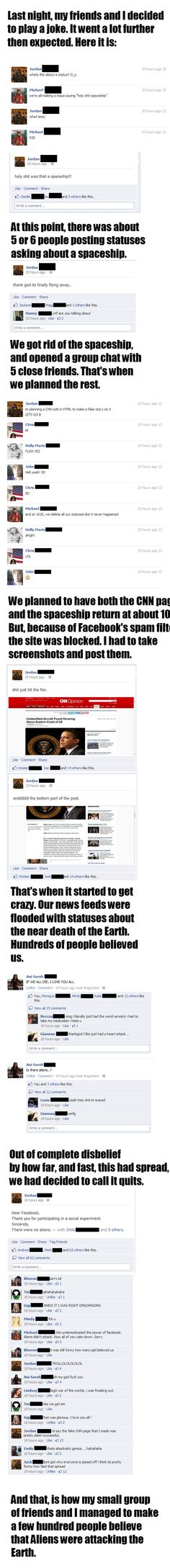 A night well spent trolling Facebook | Funny Pictures, Videos, Pics