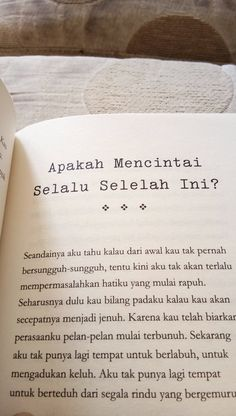 Quotes Rindu, View Quotes, Quotes From Novels, Story Quotes, Tumblr Quotes, Text Quotes, Mood Quotes, My Everything Quotes, Note To Self Quotes