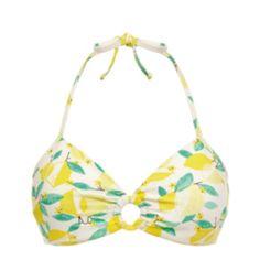 Lemon Triangel Bikini-Top