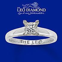 Handcrafted by the diamond artisans at Leo Schachter. This near-colorless carat round diamond is secured by platinum prongs in high-polish white gold and laser-inscribed with your unique Gemscribe® number. Leo Diamond Ring, Diamond Solitaire Rings, Diamond Engagement Rings, Kay Jewelers Engagement Rings, Rings For Her, Princess Cut Diamonds, White Gold Rings, Just In Case, Wedding Rings