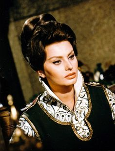 The beautiful Sophia Loren, El Cid ,1961