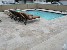 Travertine Patio Design, Pictures, Remodel, Decor and Ideas - page 6