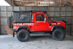 Team Land Rover Philippines Side View