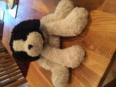 Found on 11/08/2014 @ Ickworth Park, Bury St Edmunds. Suffolk. Found black & white doggy teddy bear in a backpack this evening at ickworth park. Visit: https://whiteboomerang.com/lostteddy/msg/fhnwqr (Posted by Robin on 11/08/2014)