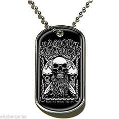 Official Band Merchandise Slayer Calavera Metal Dog Tag Navidad//Navidad Nuevo
