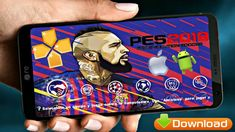 PES2019 Offline Android Game Download Fifa Games, Pro Evolution Soccer, Mobile Game, Iphone, Patches, App, Android Apk, Champions League, Menu