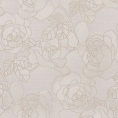 """Venezia Sancia Rosette Weave 33' x 27"""" Floral 3D Embossed Wallpaper"""