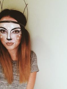 fox costume make up - Google Search