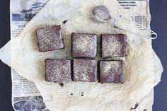 Liqourice chocolate bites