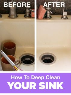 Deep Clean A Dirty Sink With This Easy Routine