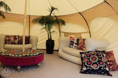 Lotus Bella offers new Outback Deluxe tent perfect for Glamping.
