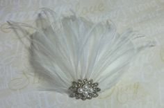 Hey, I found this really awesome Etsy listing at https://www.etsy.com/listing/84385078/bridal-fascinator-wedding-fascinator