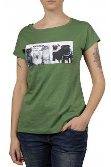 Comprar Camiseta Algodão Básica Gatos Curl e Pugs