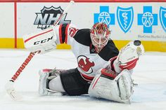 Cory Schneider #35 of the New Jersey Devils