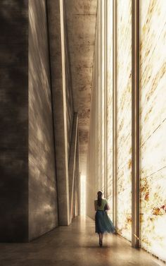 Marmor All Over - Teatro REX Bauen no World Trade Center - Architecture - Arquitetura Cultural World Trade Center, Trade Centre, Architecture Visualization, Space Architecture, Architecture Diagrams, Le Corbusier Marseille, Interior Rendering, Light And Space, Metal Buildings