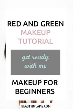 Green eyeshadow tutorial for brown eyes. Makeup for beginners. Red and green mak. - Green eyeshadow tutorial for brown eyes. Makeup for beginners. Red and green makeup tutorial - Contouring Step By Step, Tutorial Contouring, Contouring For Beginners, Makeup Tutorial For Beginners, Beginner Makeup, Make Up Tutorials, Best Makeup Tutorials, Best Makeup Products, Foundation Makeup