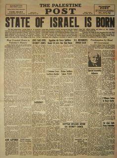 Israeli History: Israel Declaration Independence 1948 with Original MP3 Recordings of David Ben-Gurion Reading Declaration Independence