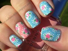 Cathy Kidston Inspired Nails