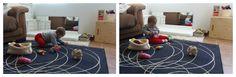Nuestro ambiente preparado evoluciona (bebé 6-7 meses) - Prepared environment update (baby 6-7 mo) • Montessori en Casa
