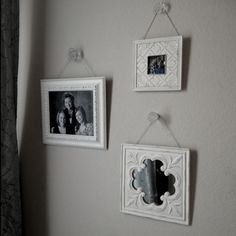 Drawer pulls to hang pictures
