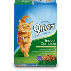 9Lives Indoor Complete Dry Cat Food *** See this awesome image  (This is an amazon affiliate link. I may earn commission from it)