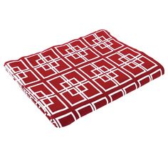Delta Knit 130x150cm Throw Red - Bed Runners and Throws - Living | Manchester Warehouse