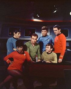 cast of Star Trek -- Oldies, but the goodies.  :D