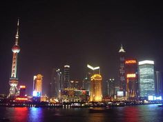 Shanghai, China - I've been here MANY times.  Quite an amazing city...