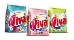 Packaging design for Viva Detergent Line Extension´s & Special Editions Washing Detergent, Packaging Design, Packaging Ideas, Label Design, Extensions, Household, Behance, Facial Tissue, Industrial Design