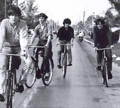 Paul McCartney, Ringo Starr, George Harrison and John Lennon