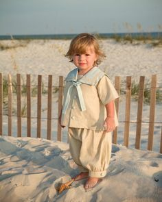 Little Boy Vintage Sailor by LillieBelleBoutique on Etsy, $150.00