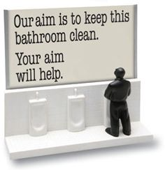 Seriously... if you have boys this may need to be added to your bathroom....