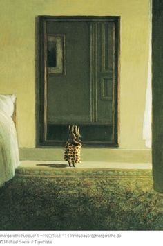bunny gets dressed in the morning, michael sowa
