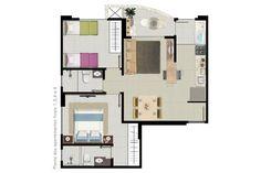 Cs, Apartment Floor Plans, Minecraft, House Plans, House Ideas, Flooring, How To Plan, Stone, House 2