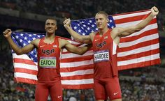 Gold and silver in the decathlon
