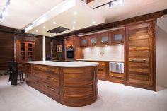 A modern kitchen crafted with care and attention to detail by skilled carpenters.