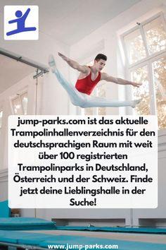 Finde Trampolinhallen in der Nähe Aus über 90 Standorten in Deutschland! jump-parks.com ist das aktuelle Trampolinhallenverzeichnis für den deutschsprachigen Raum mit weit über 100 registrierten Trampolinparks in Deutschland, Österreich und der Schweiz. Finde jetzt deine Lieblingshalle in der Suche! #Trampolinhallen #Trampolinparks #Freizeit #FreizeitIdeen Jump Park, Happy Shopping, Parks, Messages, Reading, Blog, Sport, Lifestyle, Switzerland