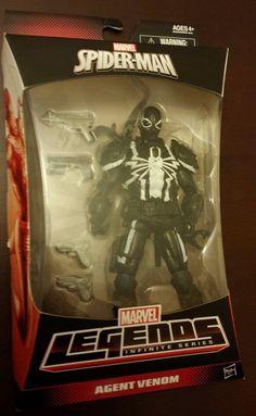 Marvel Legends Infinite Series AGENT VENOM Figure Walgreens Exclusive Spider-Man #MarvelLegends