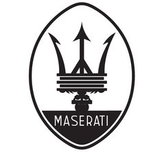 maserati logo history and maserati logo images carlogos. Black Bedroom Furniture Sets. Home Design Ideas