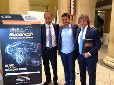 Giancarlo Fisichella testimonial di Supercar Roma Auto Show 2015 a roma dal 10 al 12 ottobre 2015  http://automoto360.it/2014/09/supercar-roma-auto-show-evento-fiera-roma/